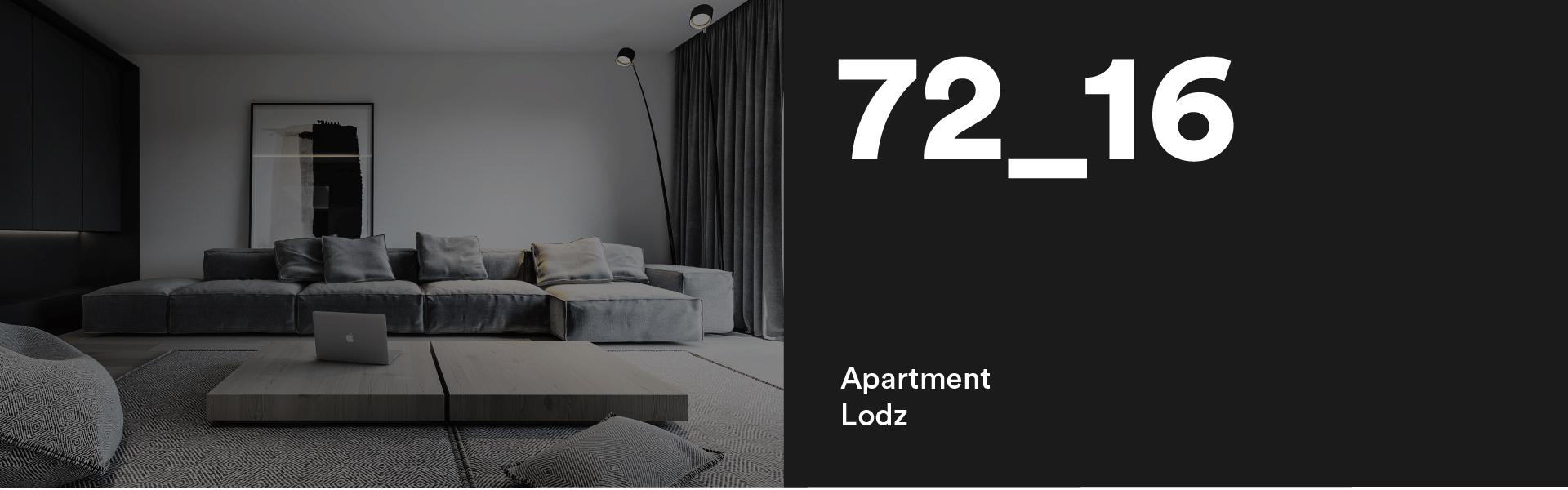 72_16 Apartment Lodz