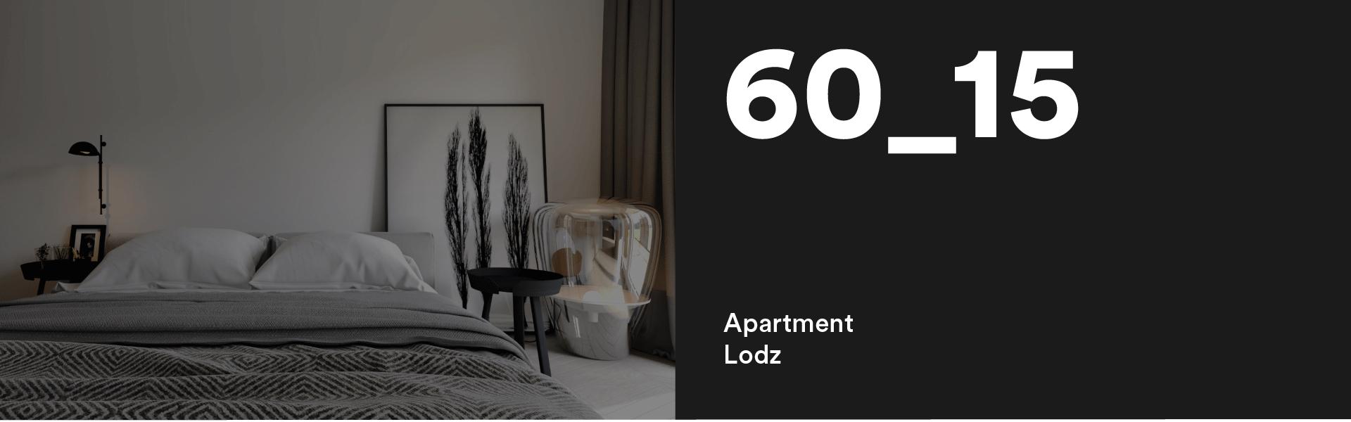 60_15 Apartment  Lodz